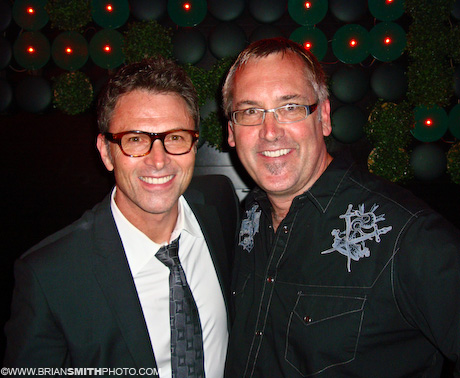 "Tim Daly and Brian Smith at the ""PoliWood"" after-party."